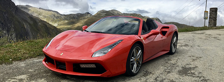 Rent A Ferrari 488 Spider In Europe Italy Switzerland France Germany Spain Austria Belgium Uk Portugal King Rent Exclusive Services